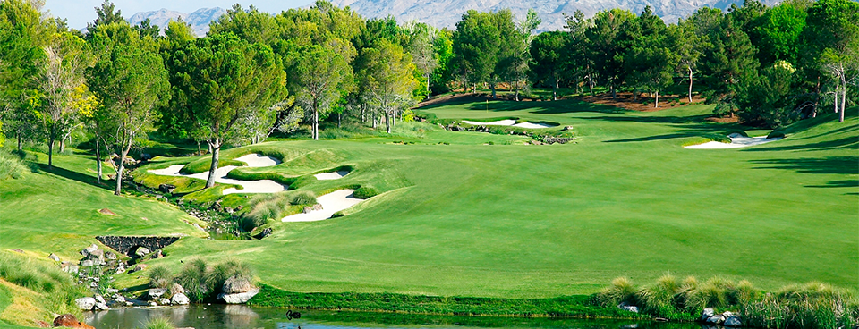 Shadow Creek golf Course in Las Vegas